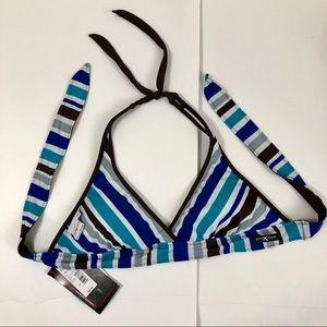 ZeroXPosur Women's Reversible Swimsuit Bikini Top
